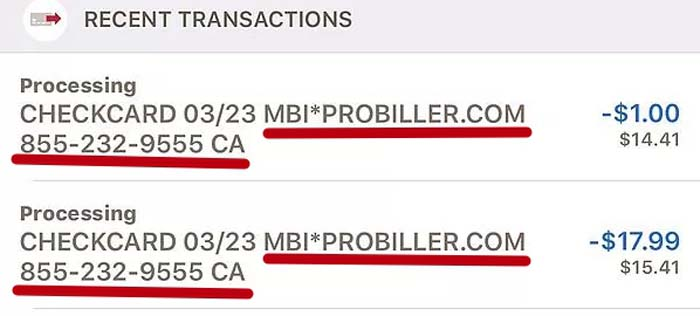 недавние транзакции в онлайн банке