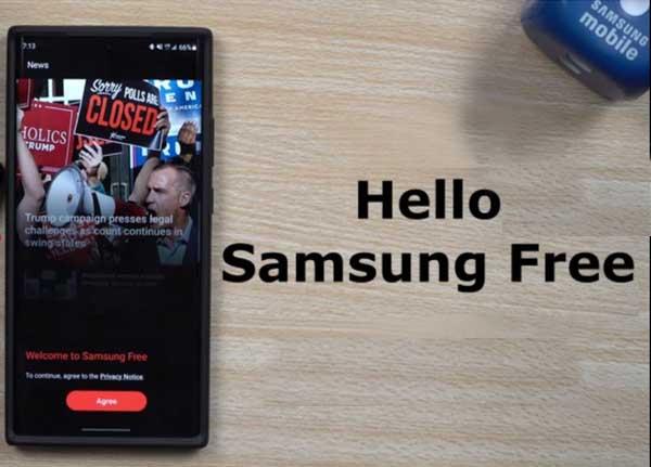 Samsung Free - что это за приложение, как отключить