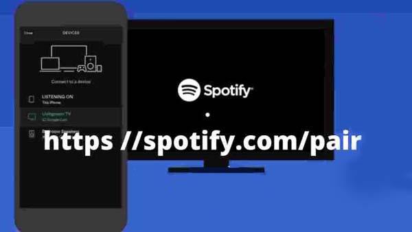 https://spotify.com/pair – как ввести код активации с телевизора