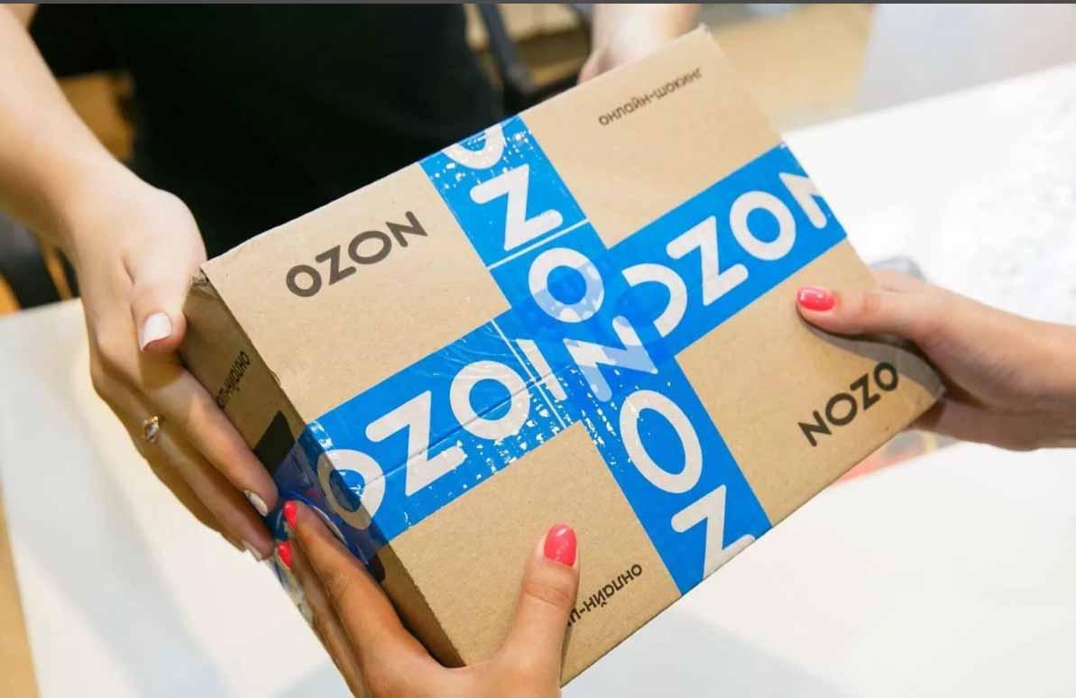 заказ с Озон