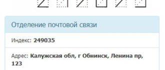 контакты почтового отделения Обнинск-5