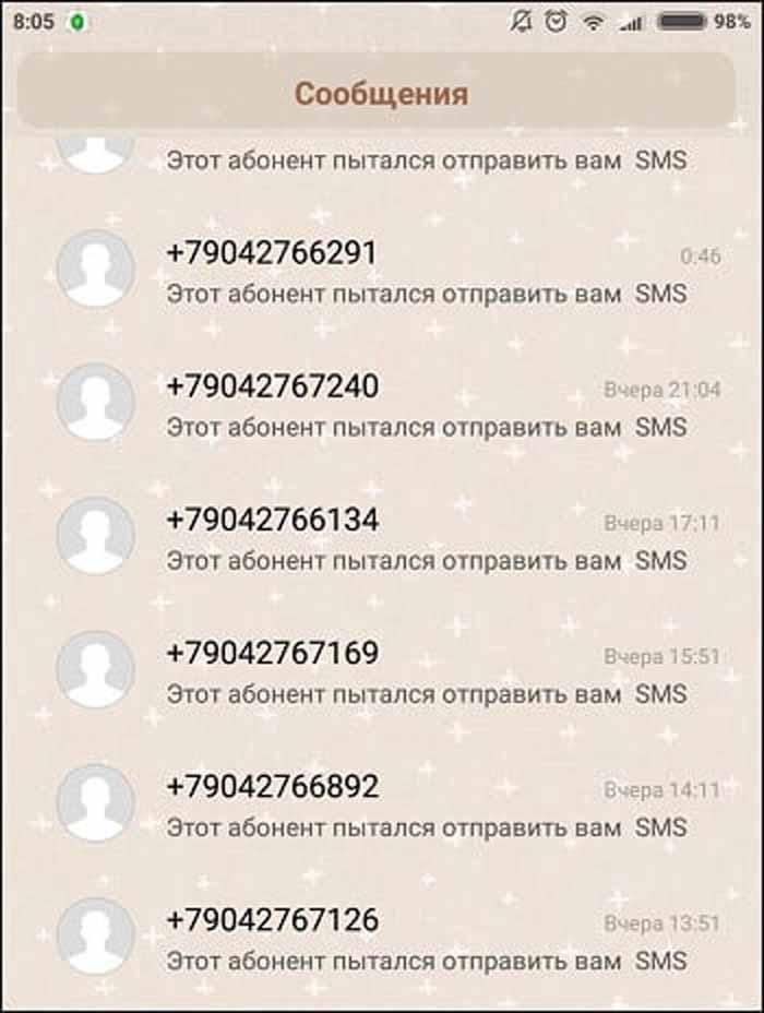 сообщения от мошенников